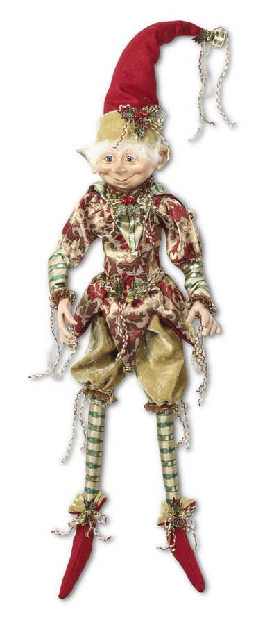20 Inch Elf w/Striped Green Pants