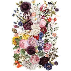 "Redesign with Prima - Redesign Décor Transfers® - Wondrous Floral size 22""x 34"""