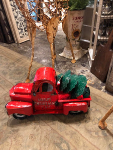 BIG Red Country Christmas Truck