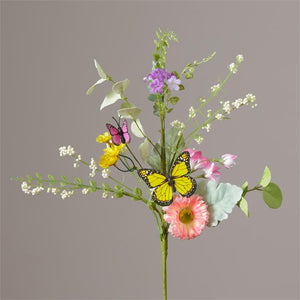 Pick Floral - Assorted Flowers - Greens and Butterflies