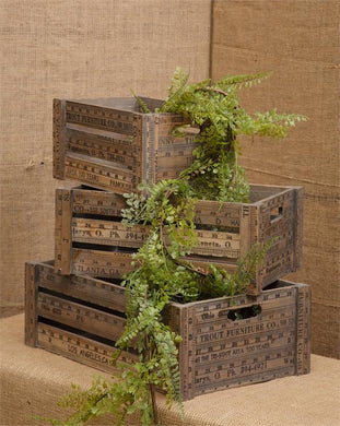 Measure Up - Nesting Crates