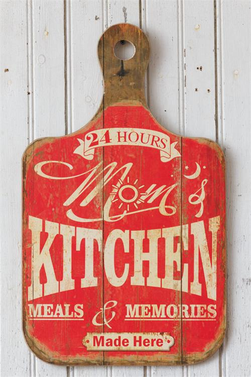Kitchen Breadboard - Sign