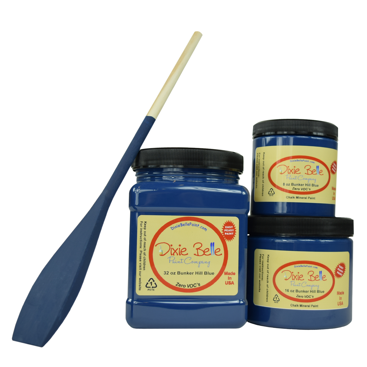 Dixie Belle Chalk Paint - BUNKER HILL BLUE