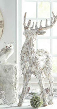 Load image into Gallery viewer, Whitewashed Bark Reindeer