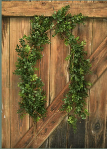 "ARTIFICIAL BOXWOOD 58"" GARLAND"