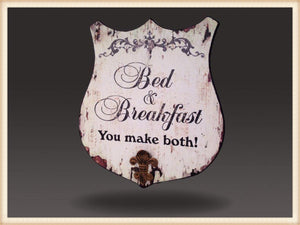 BED & BREAKFAST SHIELD