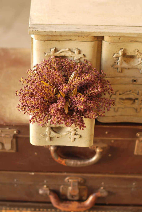 Bursting Astilbe Half Sphere | Plum | 9