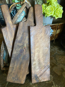 Farmhouse Style Bread Boards - Layering Board - Brown