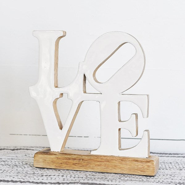 Wooden Love Table Top - Display