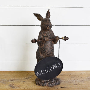 "19"" Welcome Bunny"
