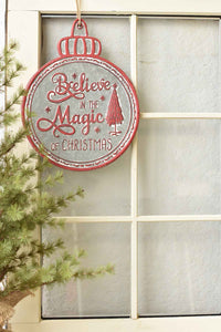 Signs of the Season | Believe | 16""