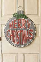 "Load image into Gallery viewer, 29"" Merry Christmas Door hanging ornament"