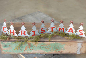 Christmas Lined Trees -30""