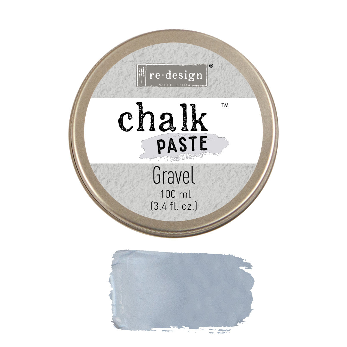 Redesign with Prima - Chalk Paste - Gravel