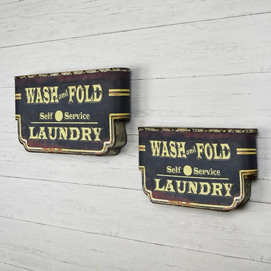 LAUNDRY TIN SIGN