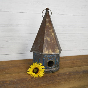 Tin - Birdhouse