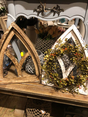Mini - Gothic Window Frame - Brown