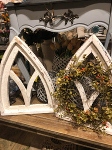 Mini- Gothic Window Frame - White