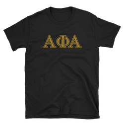 Alpha Greek Letter Tee