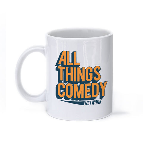 All Things Comedy Logo- Mug