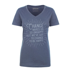 Change to be Happy - UnCabaret - Female tee