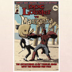 Doc Lobster vs Maniranha Poster