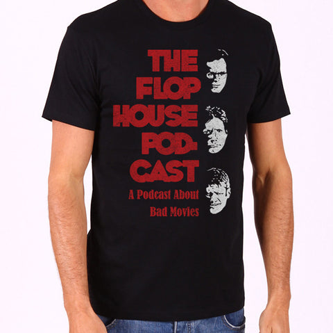 Flop House Podcast- Adult Unisex Tee