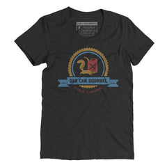 Gas Can Squirrel - Female Tee
