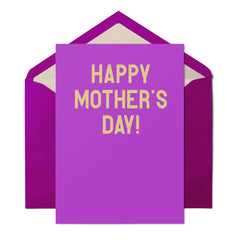 Happy Mother's Day - Mother's Day Card - UnCabaret