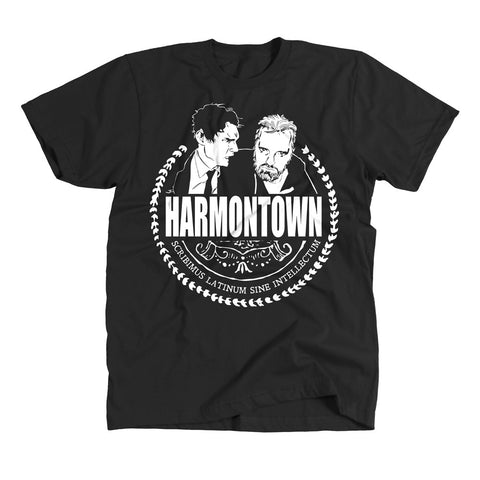 Harmontown- Black Tee - Unisex