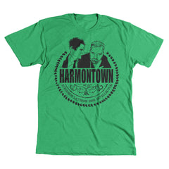 Harmontown- Green Tee - Unisex