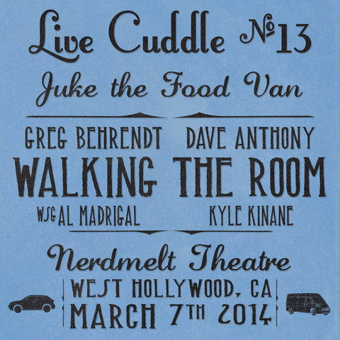 Live Cuddle #13: Juke the Food Van