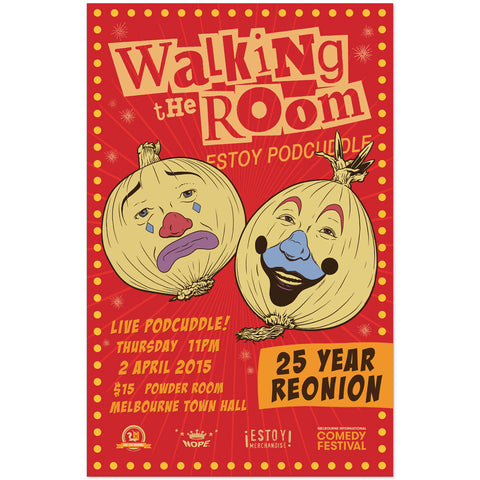 WTR MICF 25 Year ReOnion Poster