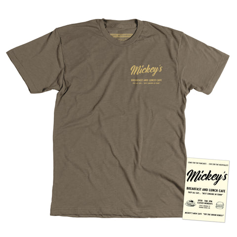 Mickey's Cafe - Unisex tee - Newpenny