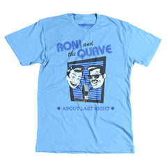 ABLN Roni and the Quave- Blue Unisex Tee