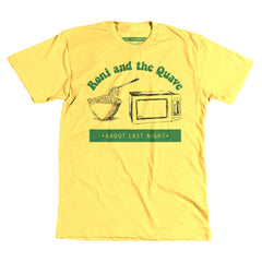 ABLN Roni and the Quave - Yellow Unisex Tee