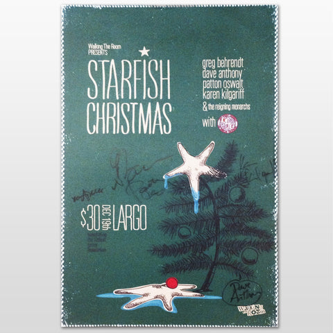 2011 Starfish Christmas Poster