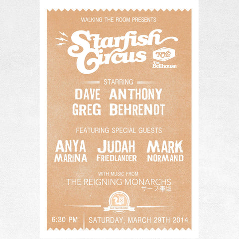 2014 Starfish Brooklyn Poster