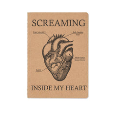 Screaming Inside My Heart - Notebook