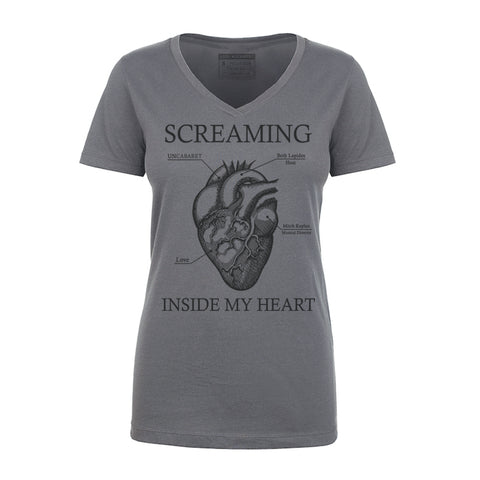 Screaming Inside My Heart - UnCabaret - Female tee