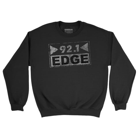 92.1 The Edge Rock Alternative - Crew Sweatshirt  - Newpenny