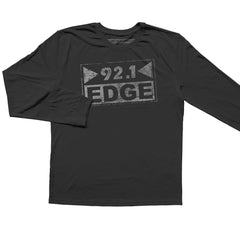 92.1 The Edge Rock Alternative - Unisex L/S tee - Newpenny