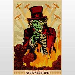 Zombie Uncle Sam 2013