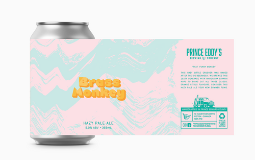 Brass Monkey Hazy Pale Ale