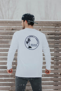 Prince Eddy's - Long Sleeve, White