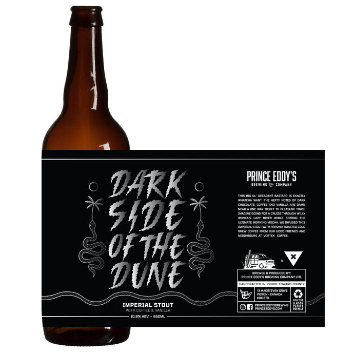 Dark Side of the Dune - Imperial Stout + Coffee & Vanilla