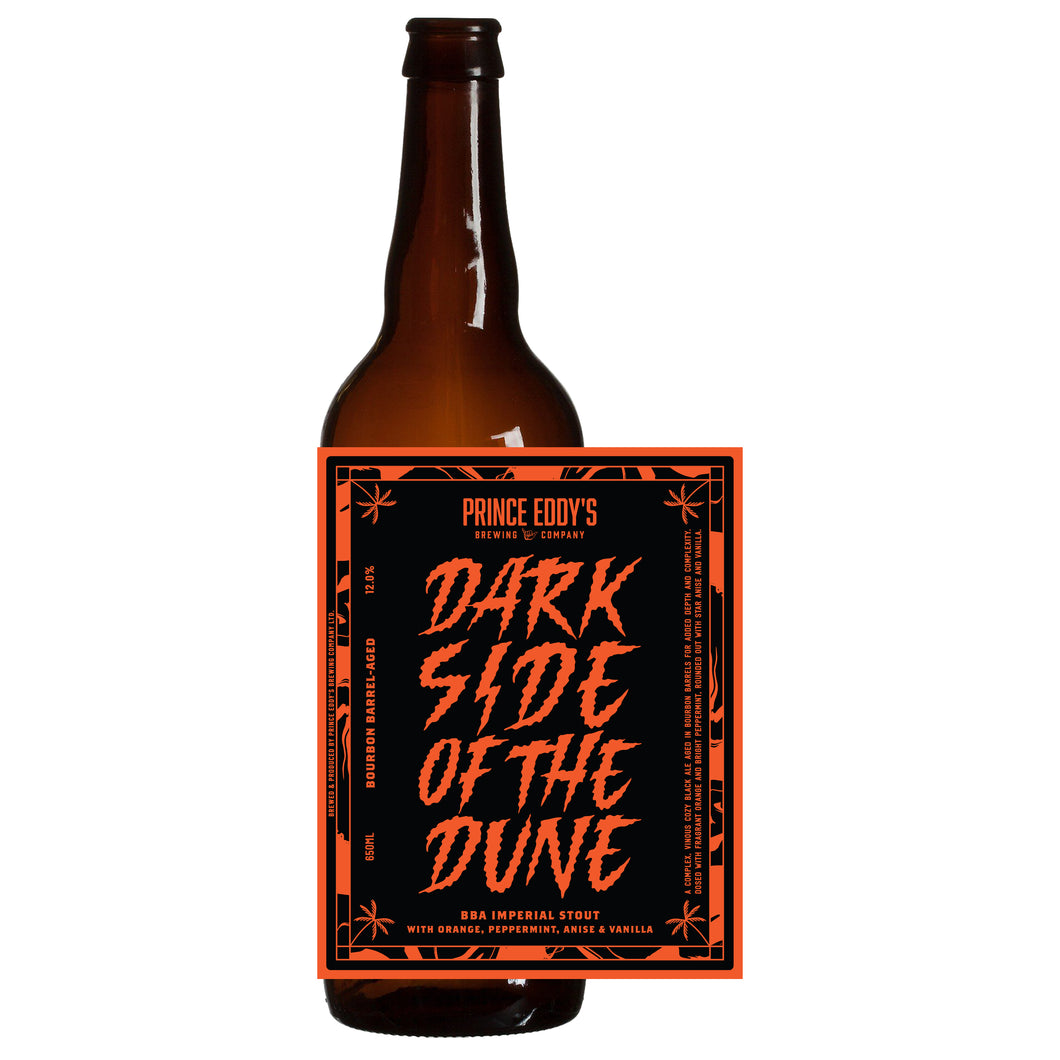 Dark Side | BBA Imperial Stout + Orange, Peppermint, Anise & Vanilla