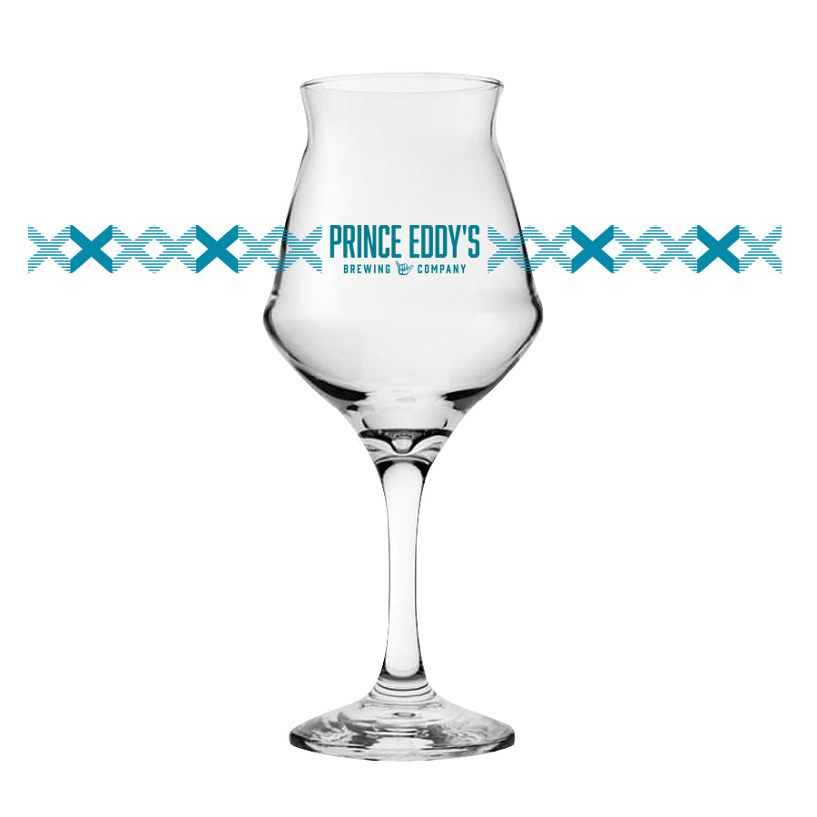 Prince Eddy's - 14oz Stem Glass