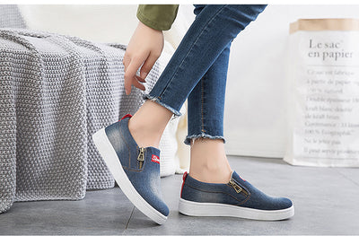 Tênis Slip Denim
