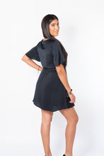 Load image into Gallery viewer, Brianna Black Dress